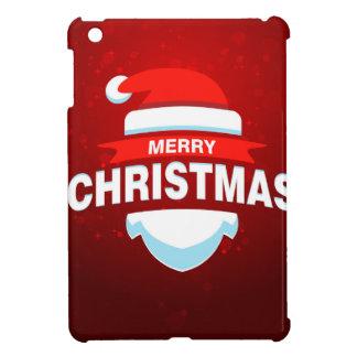 Santa Claus Merry Christmas Xmas Cute Red iPad Mini Cover