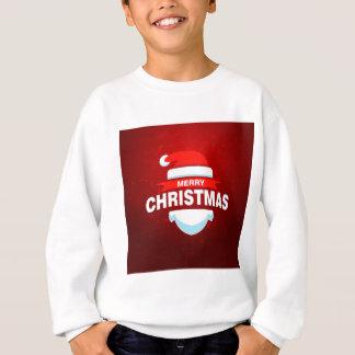 Santa Claus Merry Christmas Xmas Cute Red Sweatshirt