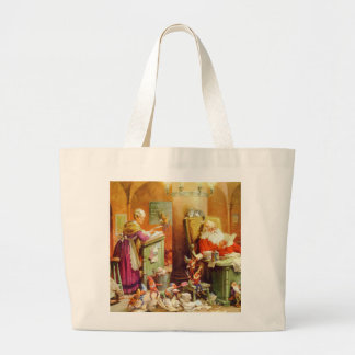 Santa Claus & Mrs Claus in the North Pole Mailroom Bags
