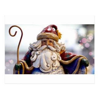 Santa Claus Nicholas Christmas Christmas Time Postcard