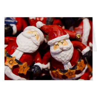 Santa Claus Novelty Gifts for Santa Collectors Card