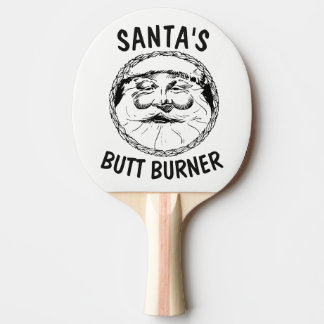 SANTA' CLAUS Novelty SPANKING PADDLES, Christmas Ping Pong Paddle