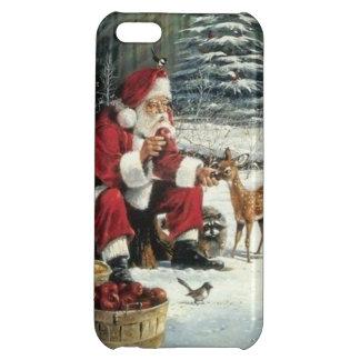Santa claus painting - christmas art iPhone 5C case