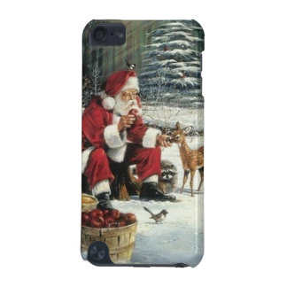 Santa claus painting - christmas art iPod touch (5th generation) cover