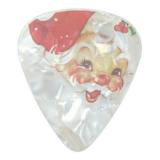 Santa Claus Pearl Celluloid Guitar Pick