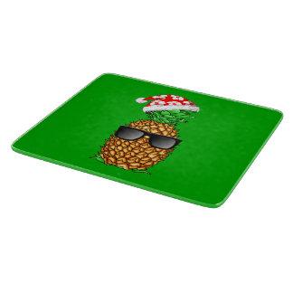Santa Claus Pineapple Cutting Board