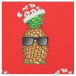 Santa Claus Pineapple Fabric