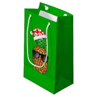 Santa Claus Pineapple Small Gift Bag