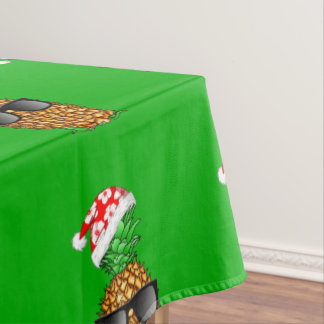 Santa Claus Pineapple Tablecloth