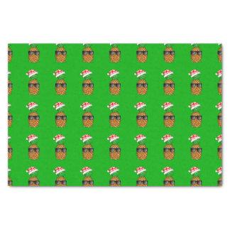 Santa Claus Pineapple Tissue Paper