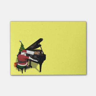 Santa Claus Playing Piano Post-it® Notes