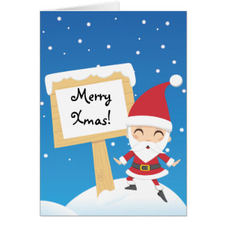 Santa Claus post Card