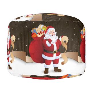Santa Claus Pouf
