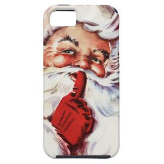Santa Claus Saying SH-H-H iPhone 5 Cover