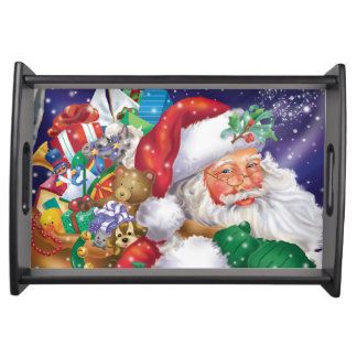 Santa Claus Serving Tray