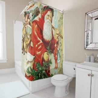 Santa Claus - Shower Curtain