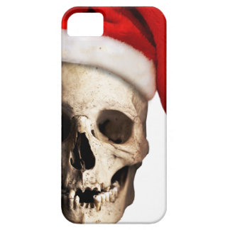 Santa Claus Skull Hat Skeleton iPhone 5 Case