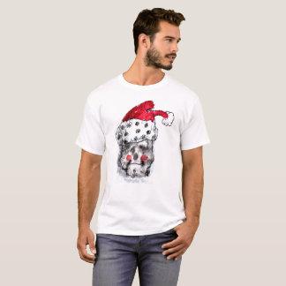 Santa Claus Skull T- Shirt
