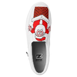 Santa Claus 🎅 slip-on shoes