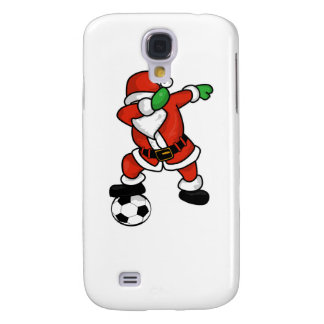 Santa Claus soccer dab dance ugly christmas T-shir Samsung Galaxy S4 Case