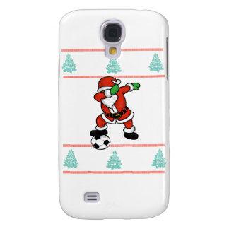 Santa Claus soccer dab ugly Christmas 2018 T-Shirt Galaxy S4 Cover