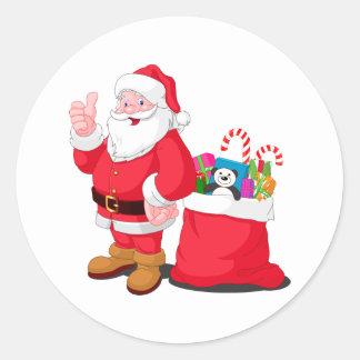 Santa Claus Stickers