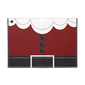 Santa Claus Suit Christmas Holiday Design Cover For iPad Mini