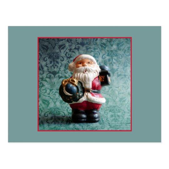 Santa Claus, Vintage Christmas Figure Postcard