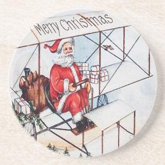 Santa Claus Vintage Coaster