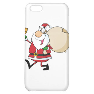 Santa Claus Waving A Bell iPhone 5C Cover