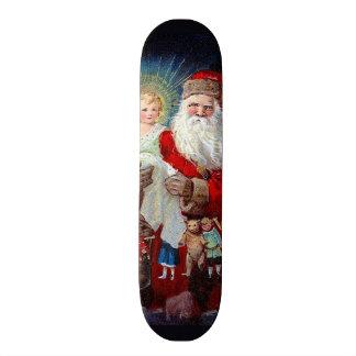 Santa Claus with Christ Child Skate Deck