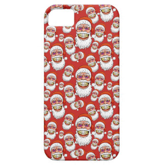santa claus with merry christmas smile case for the iPhone 5