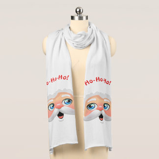 Santa Claus With Rosy Cheeks Scarf