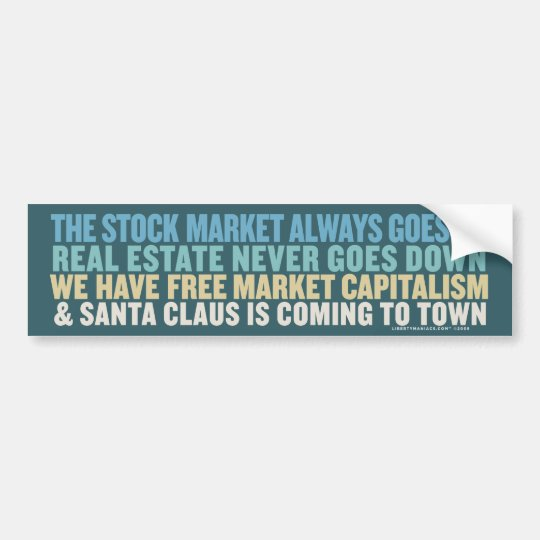 Santa Clause Is Coming To Town Bumper Sticker