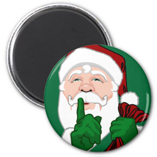 Santa Clause Magnets Fun Santa Decor & Gifts