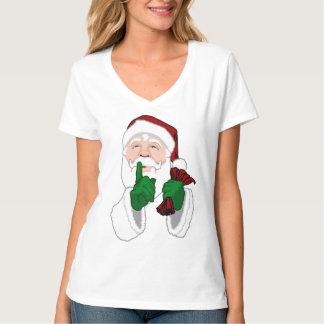 Santa Clause Shirts Fun Ladies Santa T-shirts