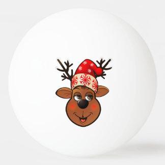 Santa Claus's Reindeer Ping Pong Ball