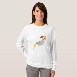 Santa Cockateil Funny Chrismas T-Shirt