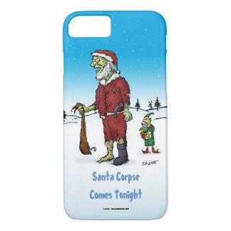 Santa Corpse Funny Zombie Cartoon iPhone 7 Case