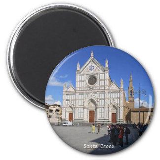 Santa Croce 6 Cm Round Magnet