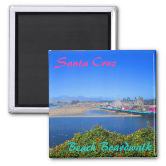 Santa Cruz Beach Boardwalk souvenir magnet