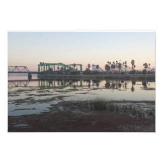Santa Cruz Beach Boardwalk Sunset Photo Art