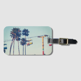 Santa Cruz Boardwalk Luggage Tag
