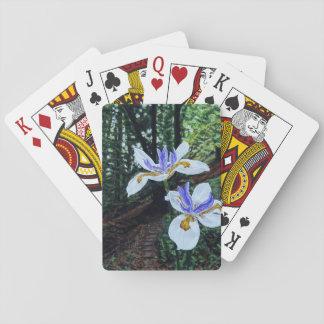 Santa Cruz Irises Playing Cards