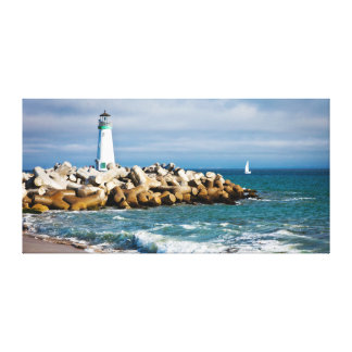 Santa Cruz Lighthouse Canvas Print