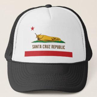 Santa Cruz Republic Banana Slug Flag Trucker Hat