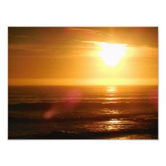 Santa Cruz Sunset Photograph