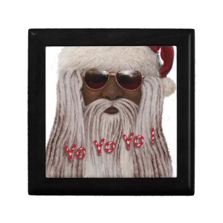 Santa ( dark ) in Dreads -Yo Yo Yo! Gift Box