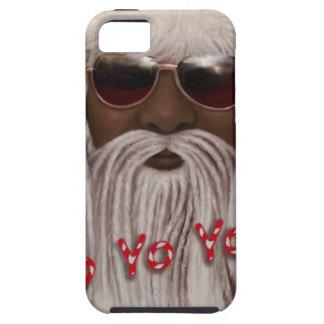 Santa ( dark ) in Dreads -Yo Yo Yo! iPhone 5 Cover