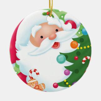 Santa Decorating Ornament